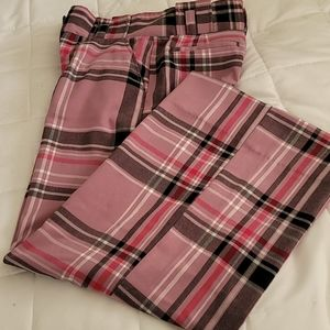 New York and Co Plaid Palazzo Pants